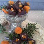 Rosemary, apricot & pine-nut caramel