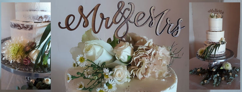 Flowers and foliage, Mr and Mrs