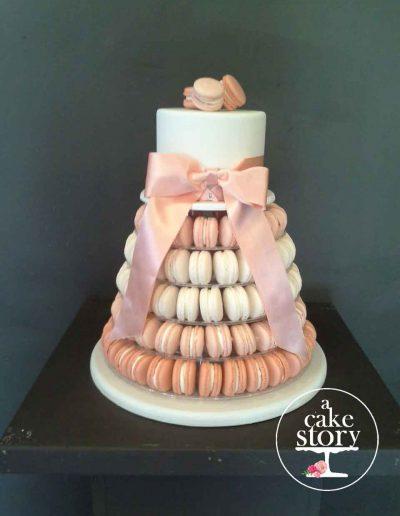 Gelukkie, Paternoster wedding, macaron cake