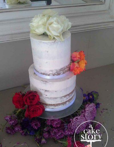 Gelukkie, Paternoster wedding, carrot cake