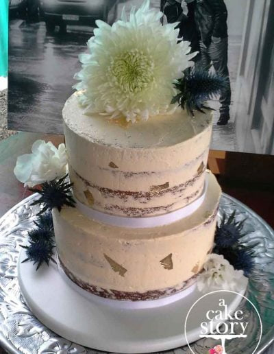 SeeKat, Paternoster wedding, semi naked cake