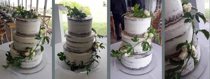 Semi-naked Wedding Cakes