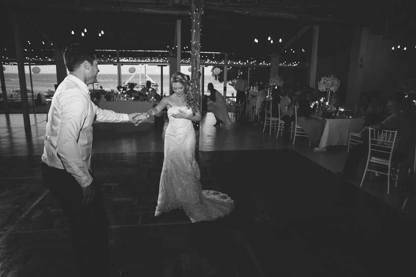 Sea Trader, St. Helena Bay, beach wedding, a love story, first dance