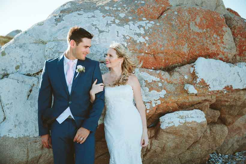 Sea Trader, St. Helena Bay, beach wedding, a love story
