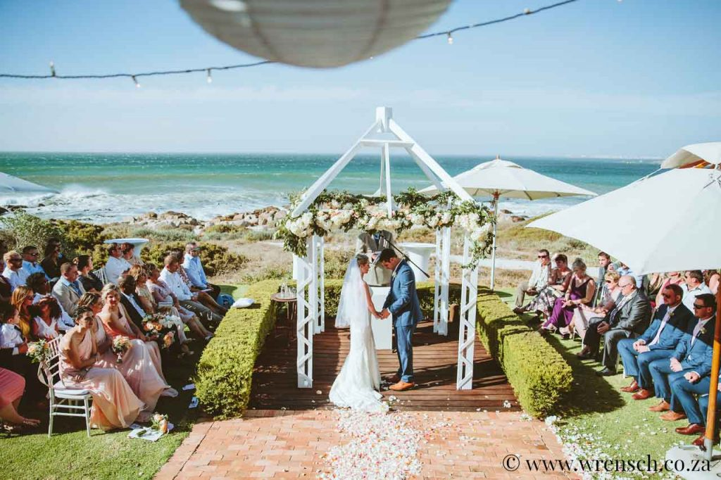 Sea Trader, St. Helena Bay, beach wedding, tying the knot, saying I Do